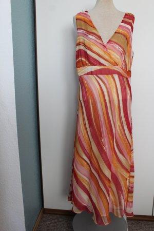 Midi Kleid Midikleid wadenlang J. Tailor Debenhams Gr. 16 EURO 44 XL rot
