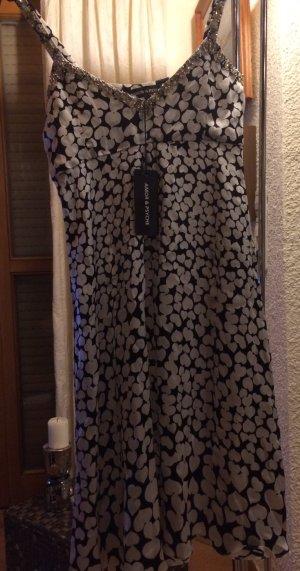 Midi Kleid mit Strass