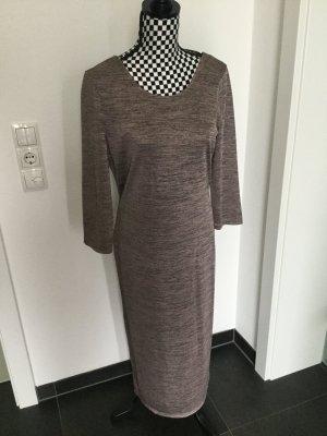 Midi Kleid Only Gr. L rosé braun, leicht glänzend, Schlauchkleid passt 38 40 42