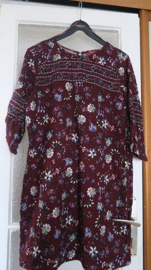 Midi Kleid /Tunika von Esprit mit Blumenmuster, Hippiekleid