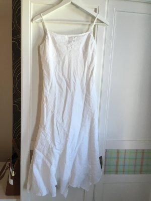 esprit collection Midi-jurk wit Katoen
