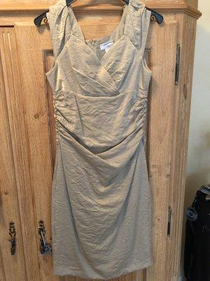 Midi-Kleid von Heine in Gold glänzend, Gr. 36, nie getragen, daher NEU!