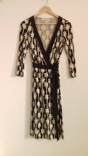 Midi-Kleid Wickelkeid Diane von Furstenberg wrap dress 34 XS S