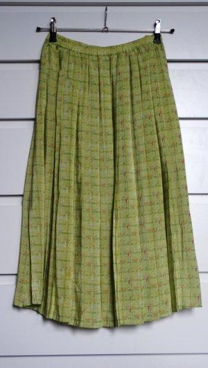 Alba Moda Silk Skirt meadow green-grass green silk