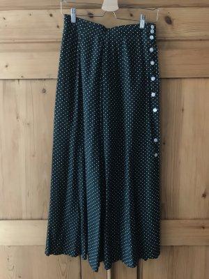 Betty Barclay Falda midi verde oscuro-blanco