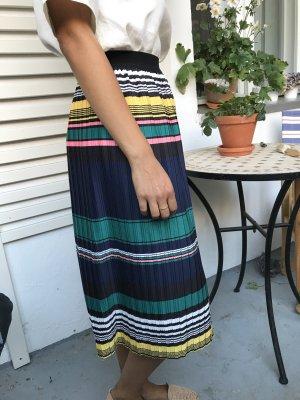 Louche Midi Skirt multicolored polyester