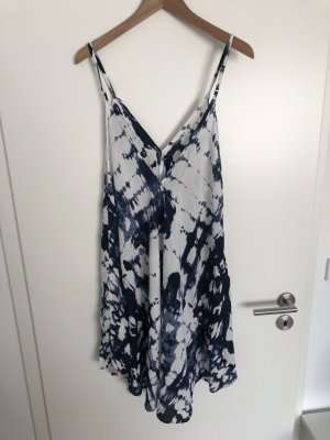 Asos Cossie white-dark blue viscose