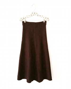 midi strick rock • high waist • bordeaux • vintage • • true vintage • bohostyle