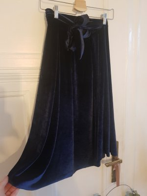 Bershka Skirt dark blue