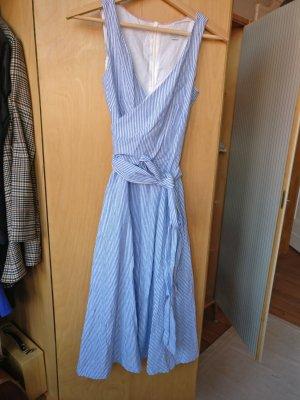 Boden Midi Dress multicolored linen
