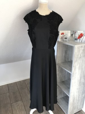 Ted baker Vestido cut out negro