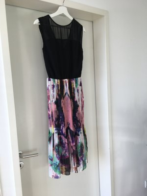 Warehouse Midi Dress multicolored polyester