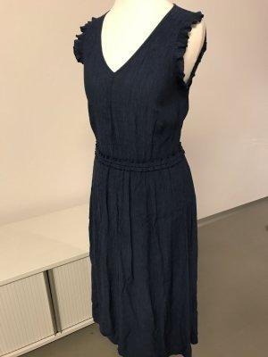 Midikleid dunkelblau H&M