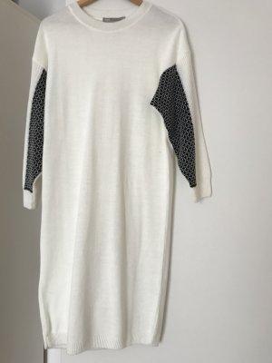 Asos Sweater Dress cream-black