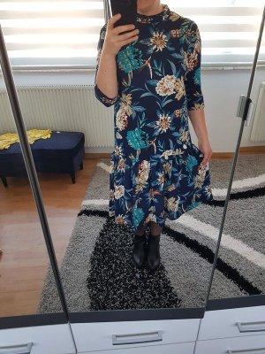 Midikleid Jacqueline de Yong by Only Gr. 38 (M/L) Kleid blau Blumen