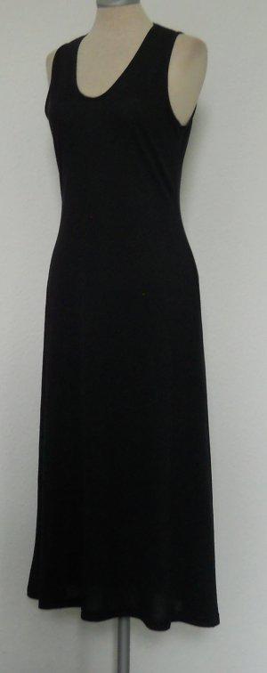 Midikleid Kleid lang blau Gr. S 36 ärmellos Sommer