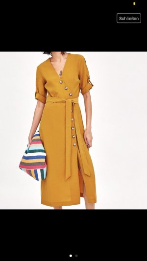 Zara Midi Dress light orange