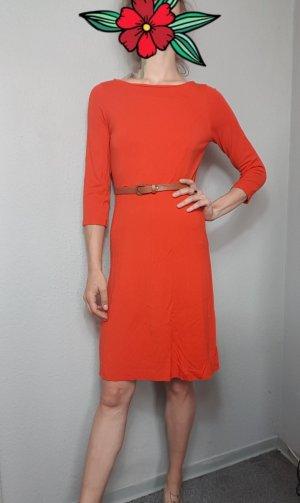 Midikleid rot, Viscose Kleid
