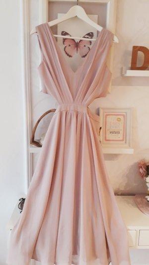 Asos Midi-jurk stoffig roze