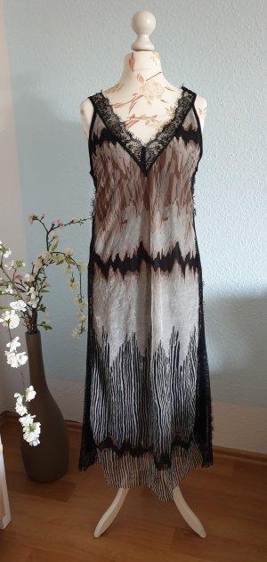 Midikleidl, Strandkleid, Sommerkleid mit Muster und Spitze von asos