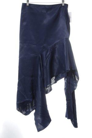 Midirock dunkelblau Elegant
