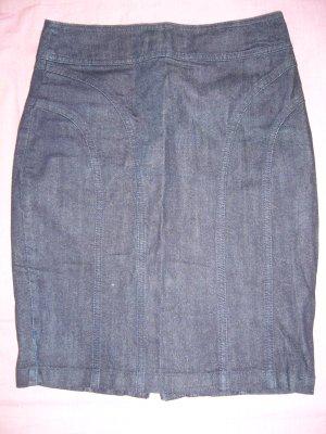 Midirock Jeansrock dunkelblau S 36 H&M