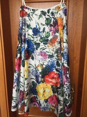 Midirock mit Blumenmuster von Madeleine Mode