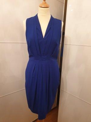 H&M Robe mi-longue bleu