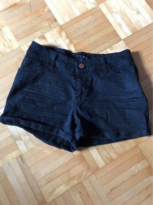 Amisu Short en jean noir