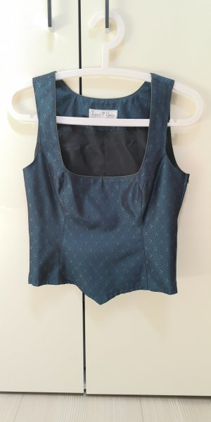 Traditional Camisole petrol polyester