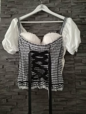 Traditional Camisole white-black