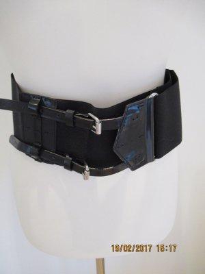 Sportmax Cinturón pélvico negro tejido mezclado