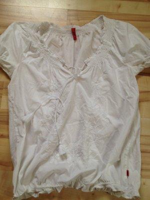 Miete mich für 4 € weiße Bluse Hippie Boho von QS by s.Oliver :)