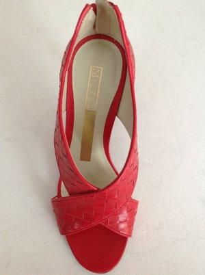 Miezko Sandaletten Echtleder rot 36 neu