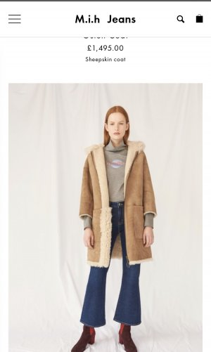 MIH Fur Jacket, NEU, wendebar