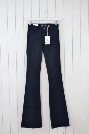 MIH JEANS Damen Jeans Schhlagjeans Mod.Bodycon Marrakesh Schwarz Gr.26 Neu!