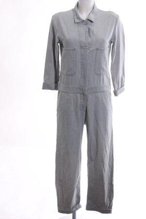 Mih jeans Jumpsuit hellgrau Business-Look