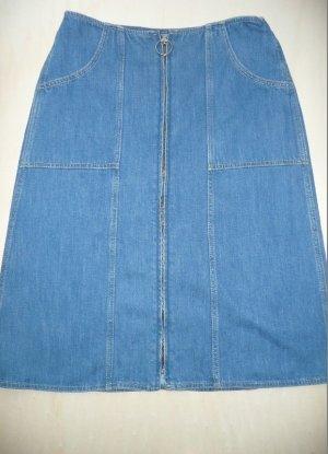 MIH Jeans M.I.H. Jeans Midi Jeans Rock vorne mit Zipper blau Gr M