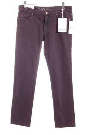 Mih jeans Röhrenjeans brombeerrot Casual-Look
