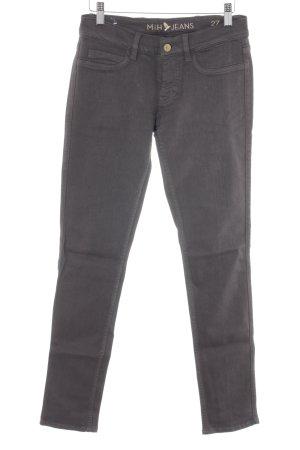 Mih jeans Slim Jeans dunkelgrau Street-Fashion-Look
