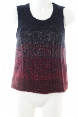 Mih jeans Stricktop Zopfmuster Casual-Look