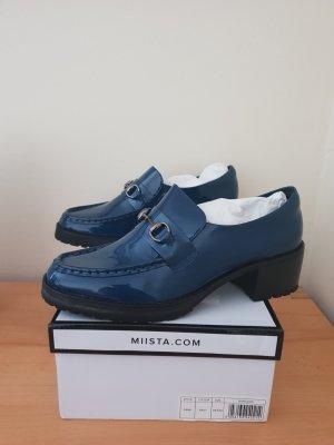 Miista Loafers zwart-donkerblauw