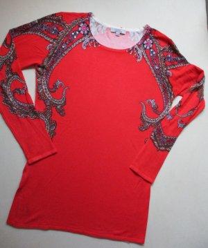 Milano Italy Jersey largo rojo