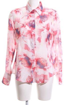 Milano Italy Hemd-Bluse Blumenmuster Casual-Look