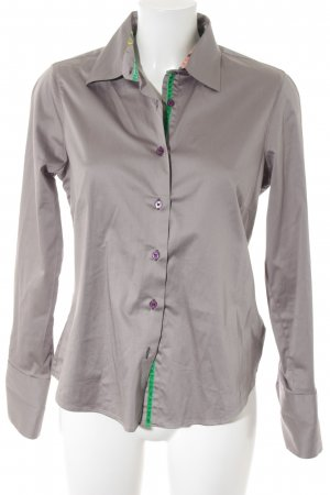 Milano Italy Hemd-Bluse florales Muster Casual-Look