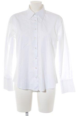 Milano Italy Camisa de manga larga blanco estilo «business»