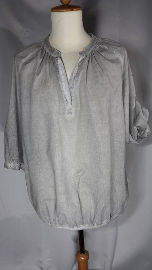 Milano Italy Slip-over blouse lichtgrijs