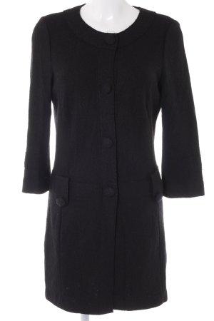 Milano Italy Long-Blazer schwarz Casual-Look