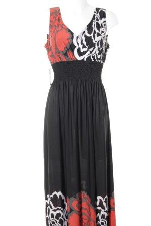 Milano Maxi Dress flower pattern
