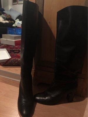Milano Stiefel Leder schwarz Gr 41